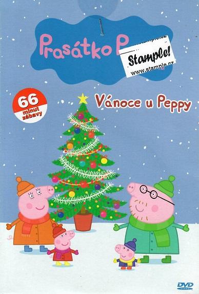 Prasátko Peppa - Vánoce u Peppy ( pošetka ) DVD