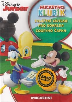 Mickeyho klubík zvláštní zásilka pro Donalda, Goofyho čapka - DVD plast