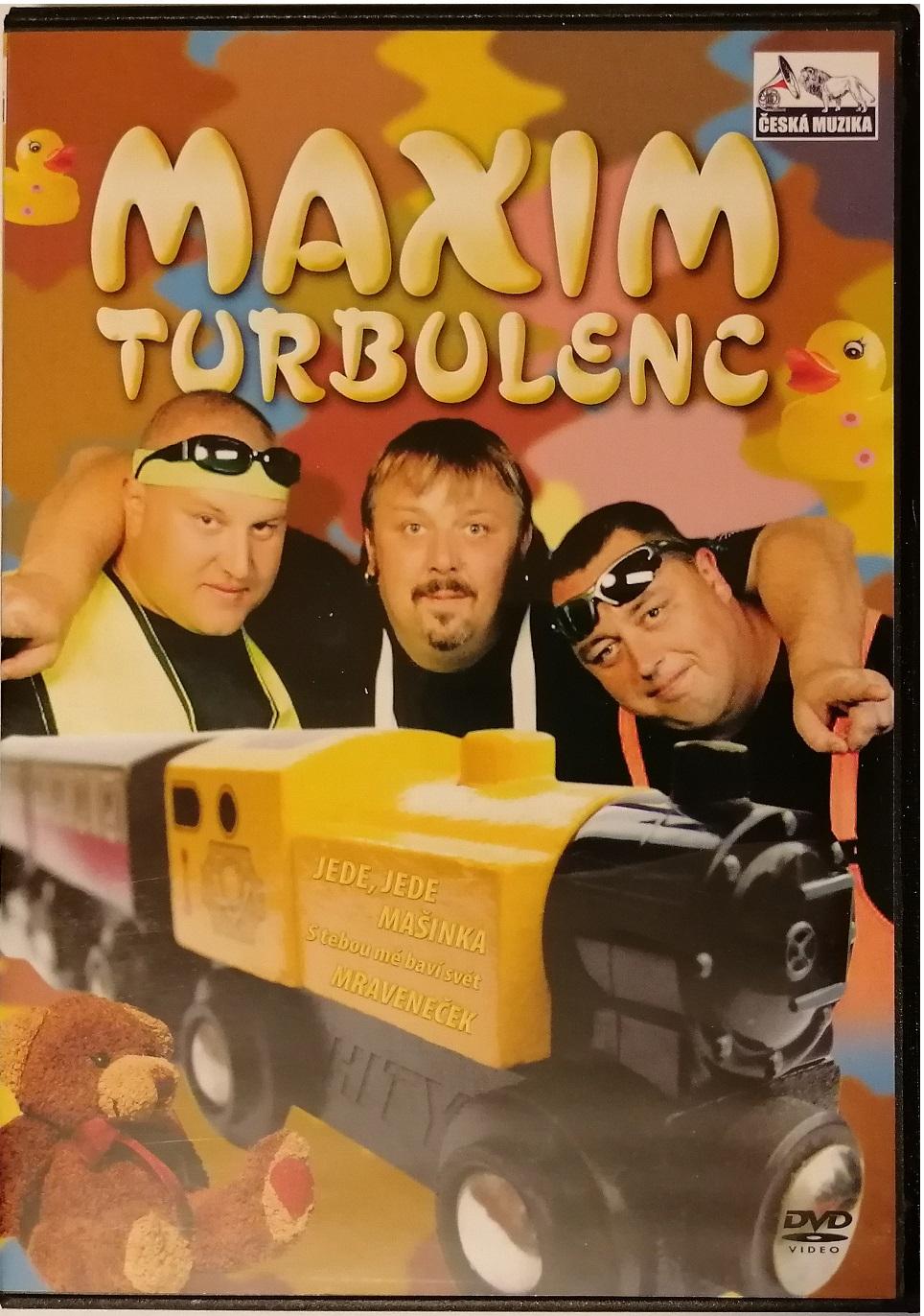 Maxim turbulenc - DVD plast