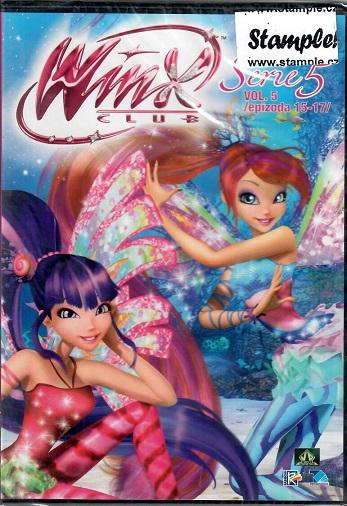 Winx Club - 5.série, 5. DVD, díly 15-17 ( plast ) DVD