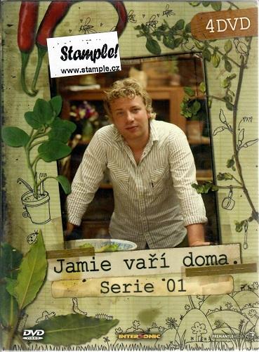 Jamie Vaří doma 1. série - 4 DVD ( BOX )