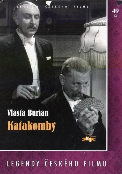 Katakomby - papírová pošetka DVD