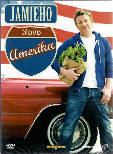 Jamieho Amerika 3 DVD ( box )