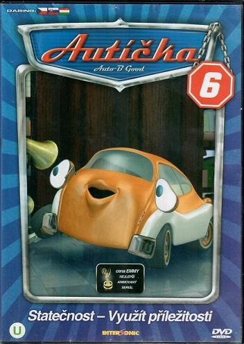 Autíčka 6 ( plast ) DVD