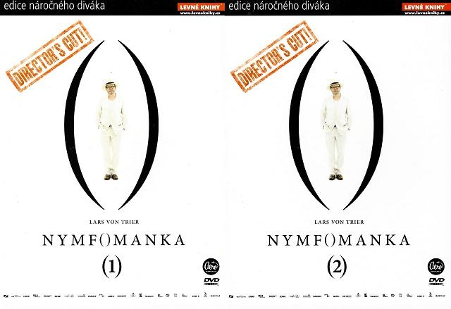 Nymfomanka - 1+2 DVD digipack