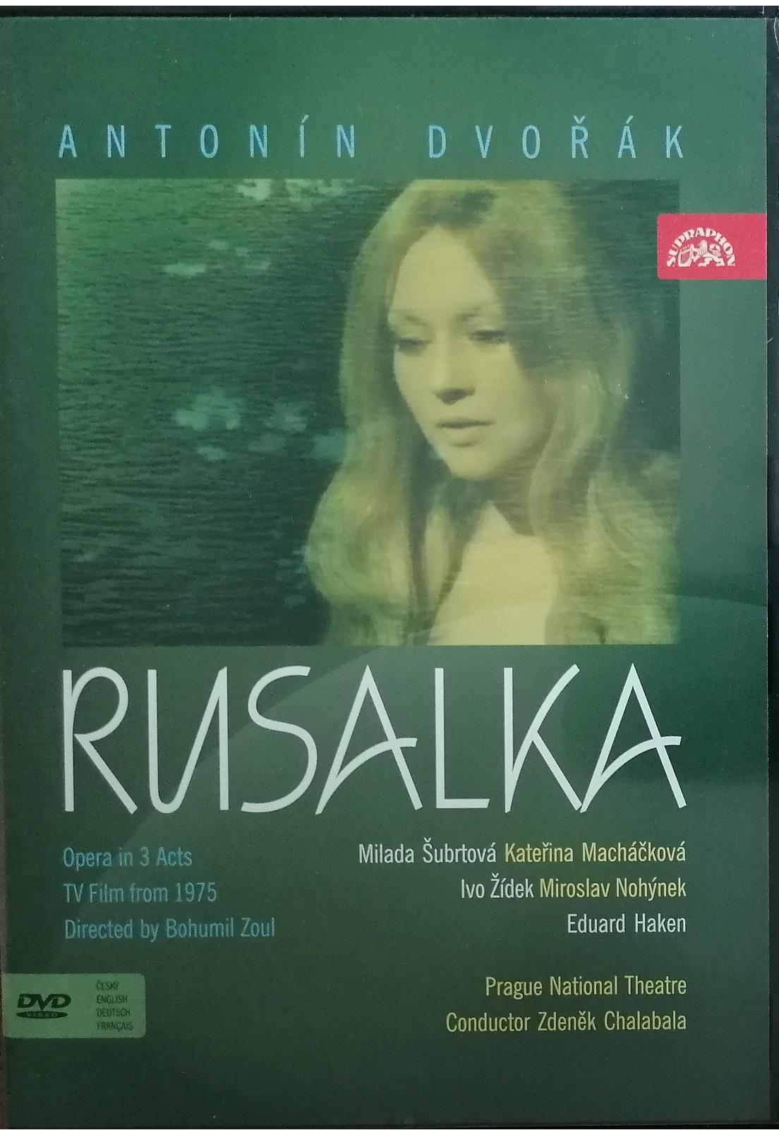 Antonín Dvořák - Rusalka - DVD plast