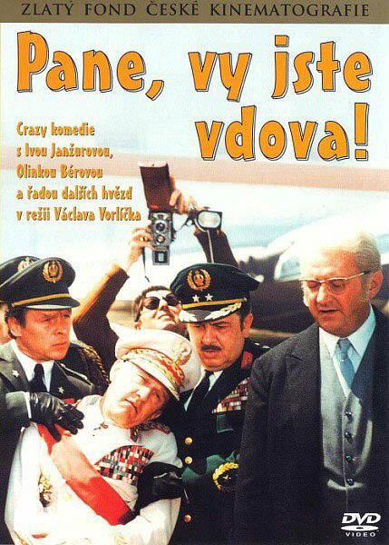 Pane, vy jste vdova! ( pošetka ) - DVD