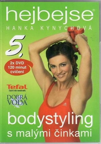 Hejbejse 5. - P- bodystyling s malými činkami - Hanka Kynychová - DVD plast