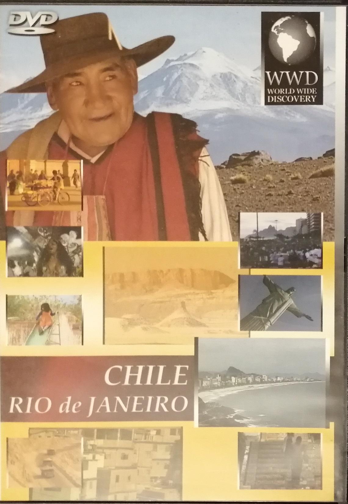 CHILE - RIO do JANEIRO - DVD plast