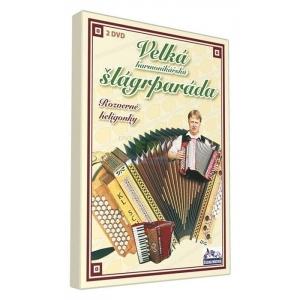 Velká harmonikářská šlágrparáda - Rozverné heligonky - 2 x DVD plast