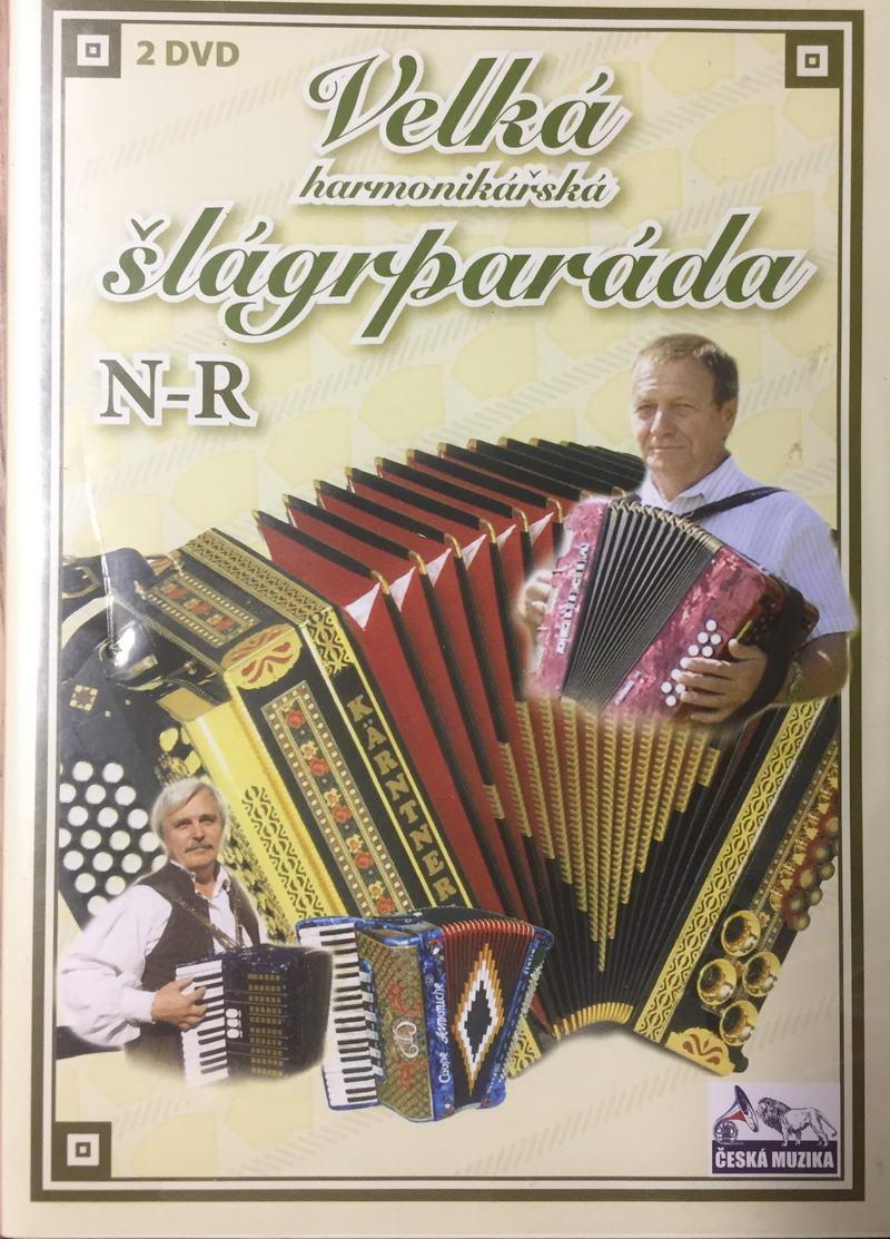 Velká harmonikářská šlágrparáda N-R - 2 x DVD plast