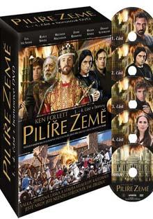 Pilíře země - 1.-4. část - DVD plast