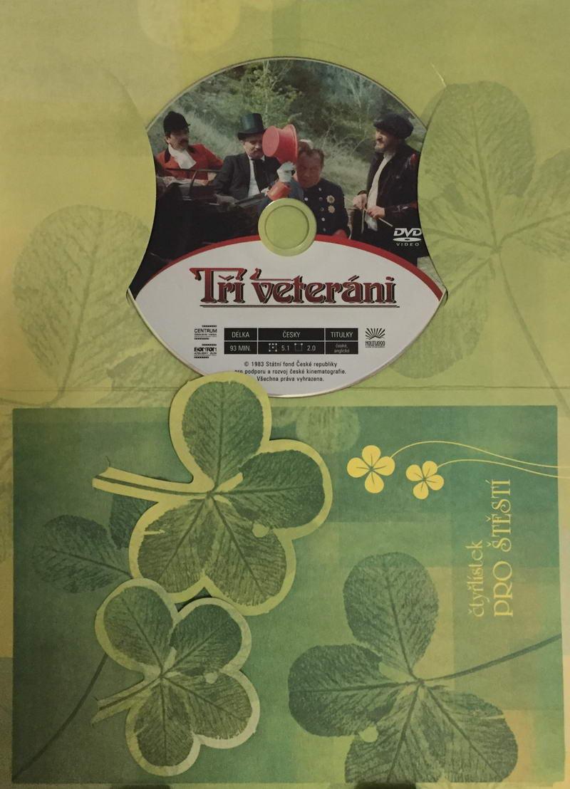 Tři veteráni - DVD /dárkový obal/