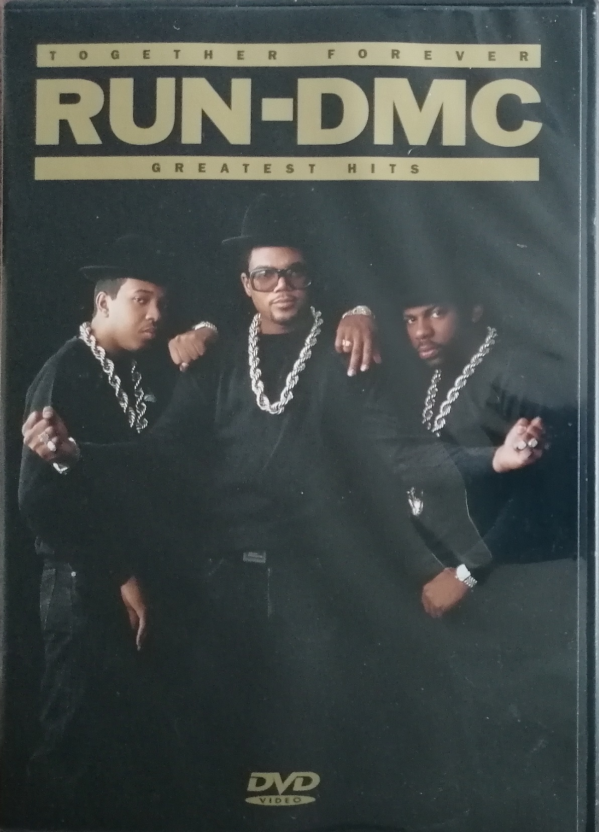 RUN-DMC  Together Forever -  Greatest Hits - DVD plast