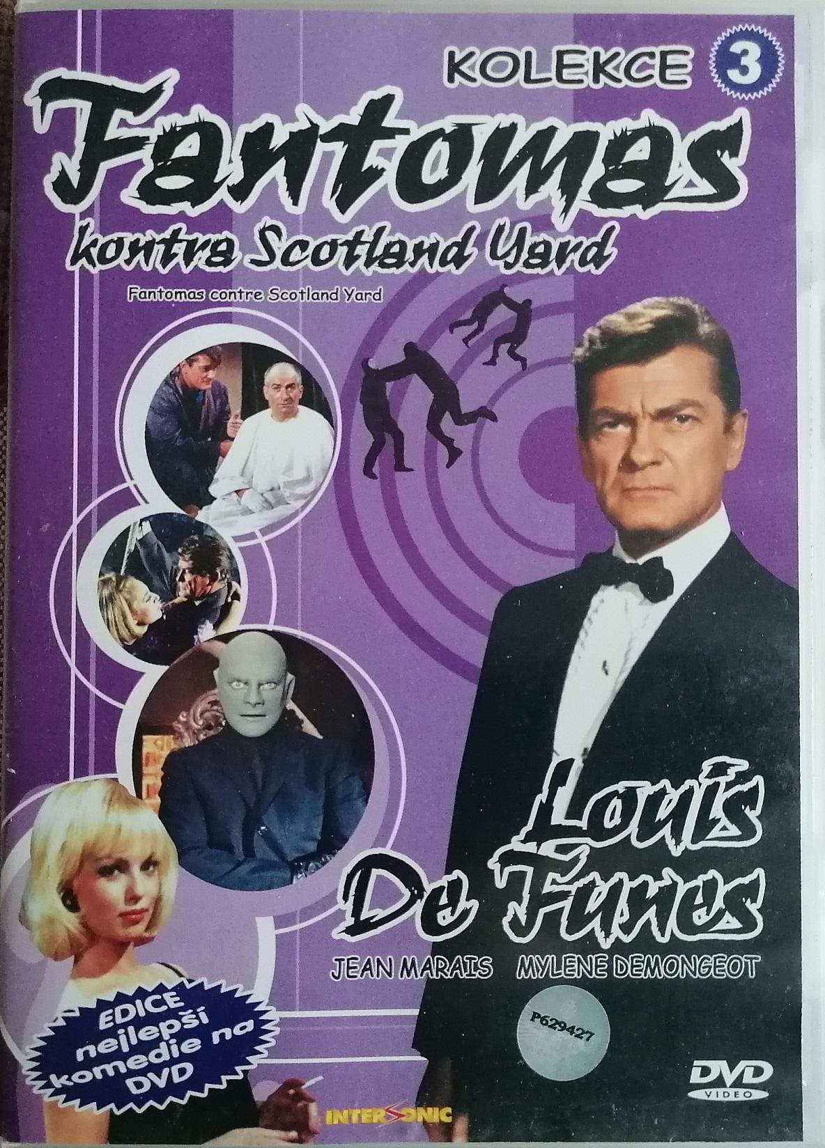 Fantomas kontra Scotland Yard - DVD plast