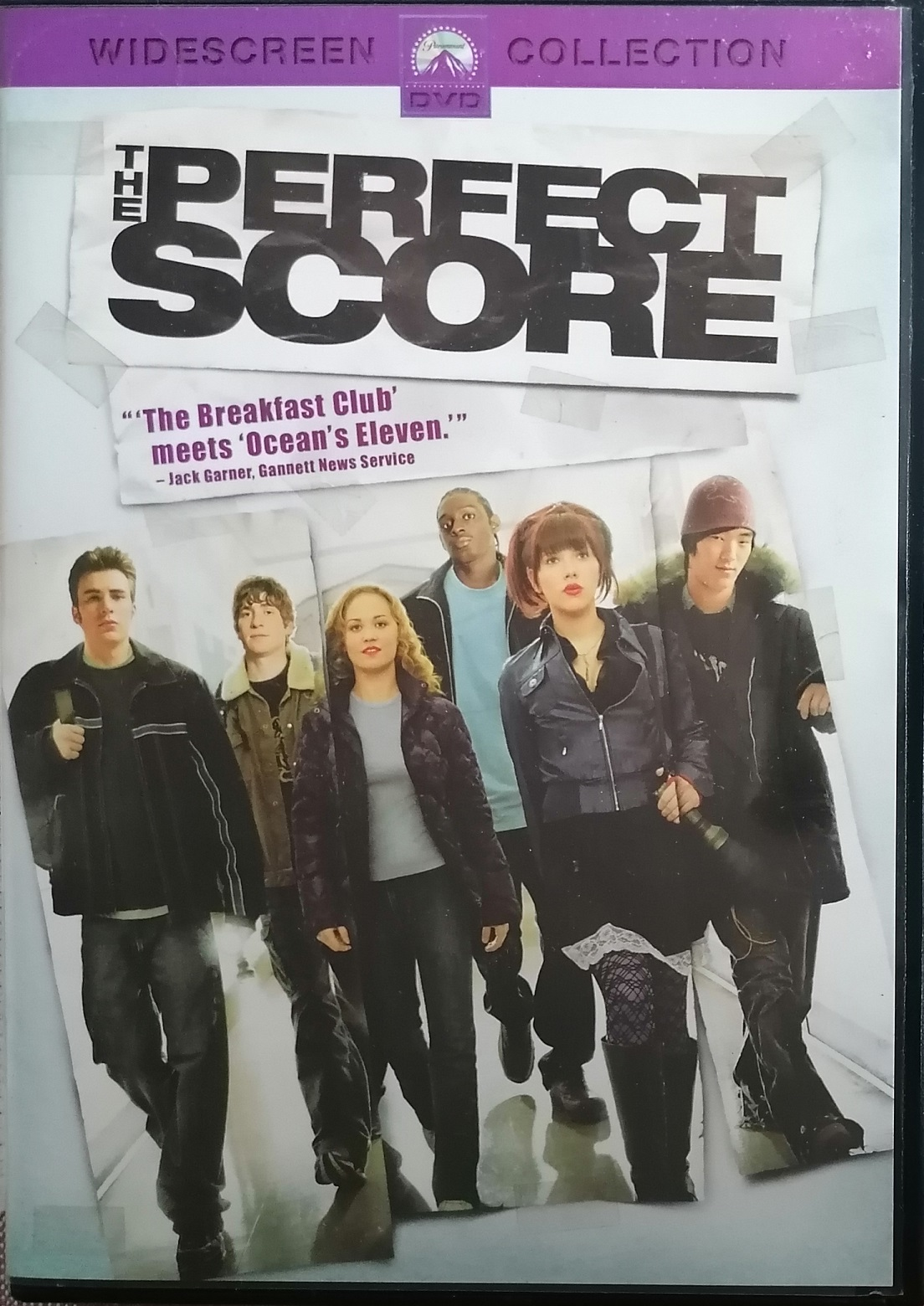 The Perfect Score ( Perfektní scóre ) - DVD plast