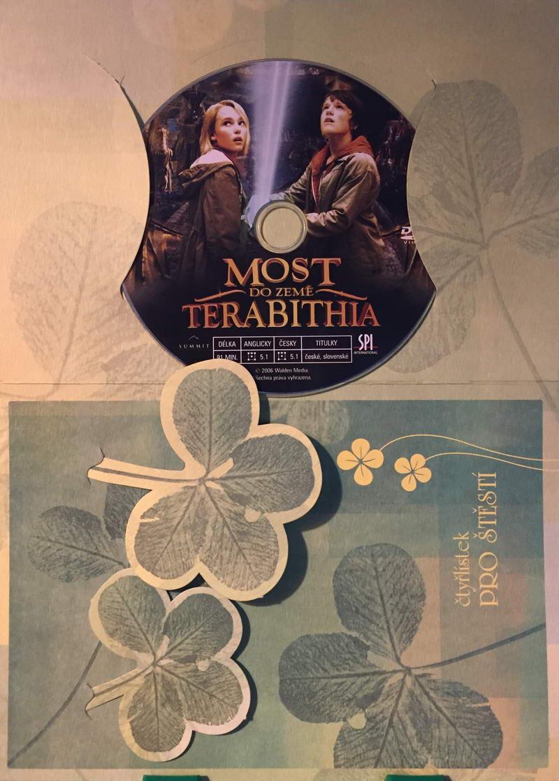 Most do země Terabithia - DVD /dárkový obal/
