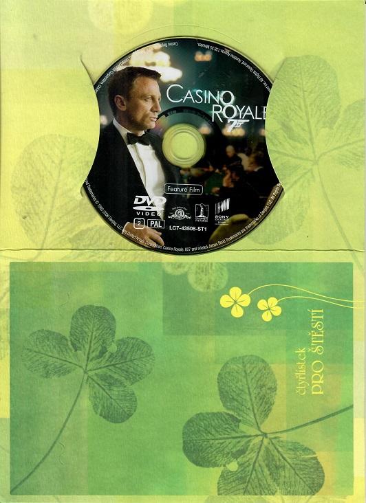 Casino Royale ( dárkový papír obal ) DVD