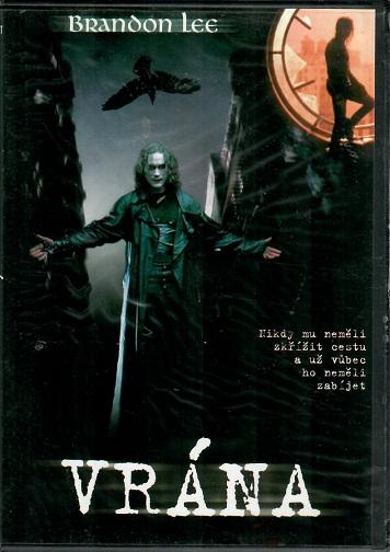 Vrána ( slim ) DVD