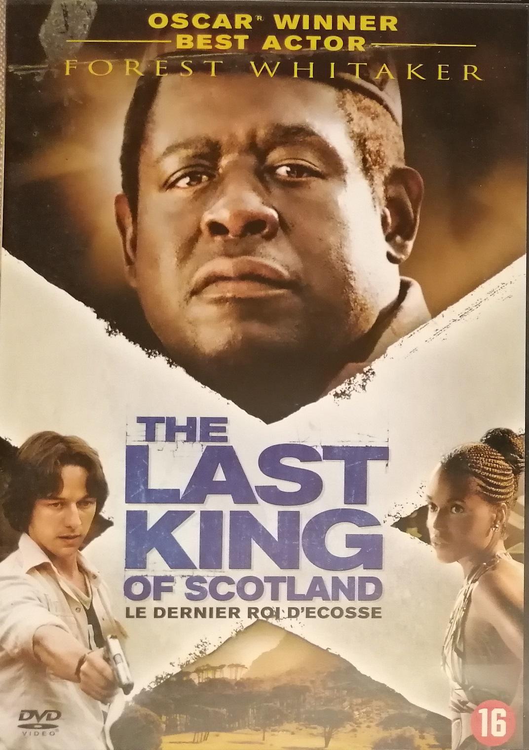 The last king of Scotland ( Poslední skotský král ) - DVD plast