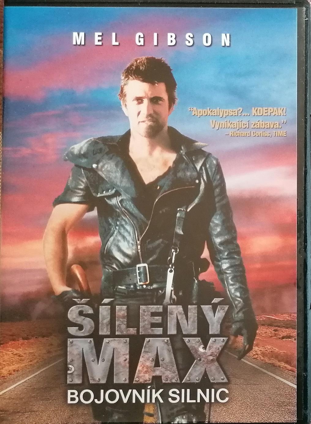 Šílený Max - Bojovník silnic - DVD plast