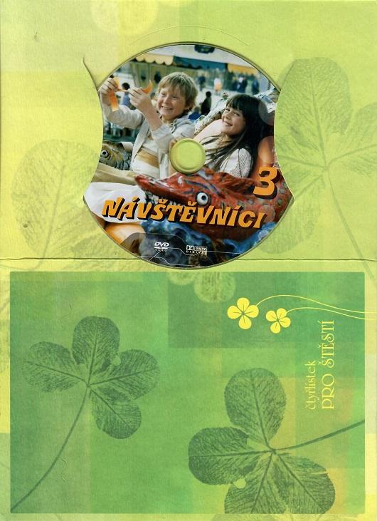 Návštěvníci - 3 (český seriál) - dárkový papír obal DVD