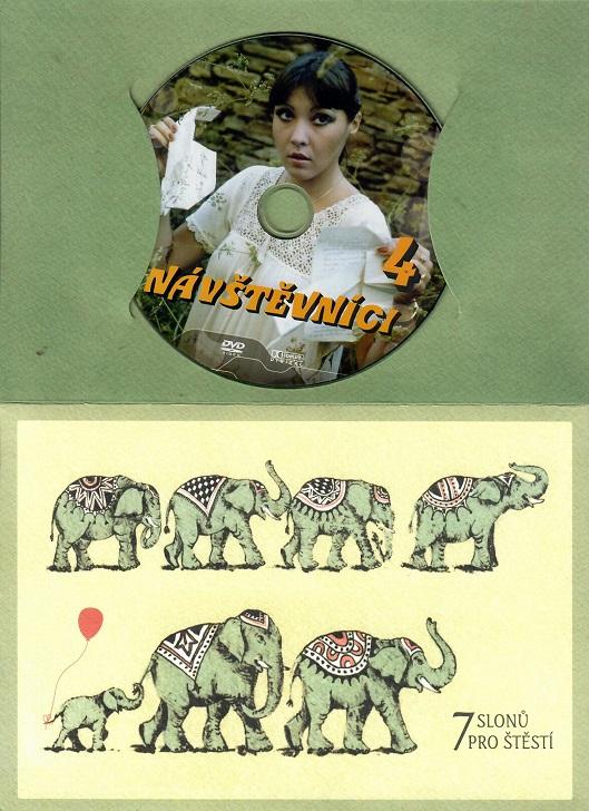 Návštěvníci - 4 (český seriál) dárkový papír obal DVD