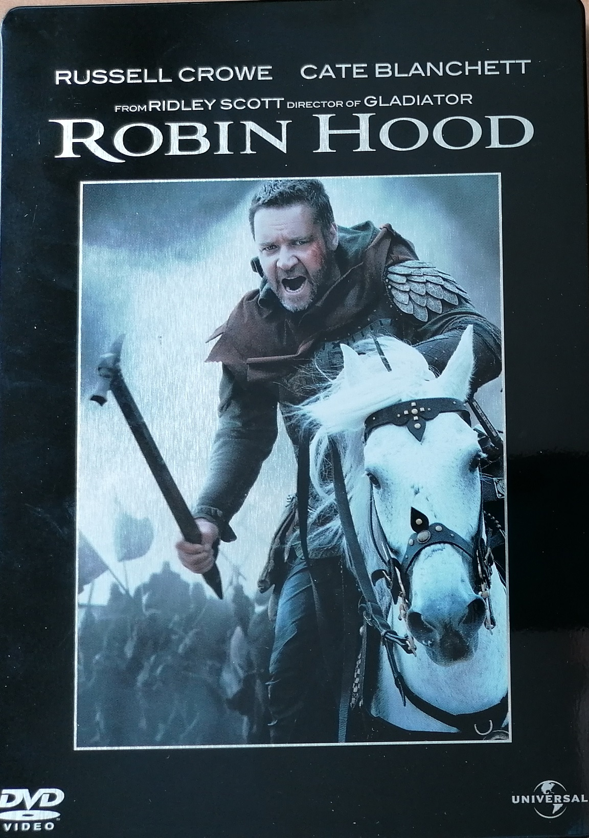 Robin Hood - 2 DVD steell book