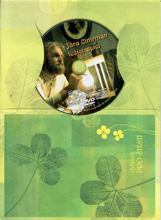 Jára Cimrman ležící, spící ( dárkový papír obal ) DVD