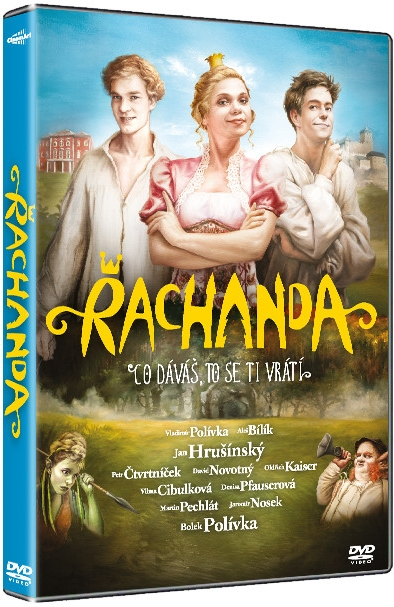 Řachanda ( plast ) DVD