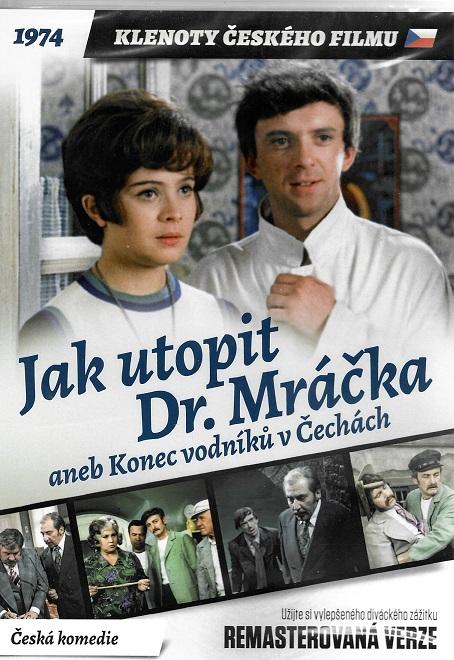 Jak utopit Dr. Mráčka aneb Konec vodníků v Čechách (remasterovaná verze) plast DVD