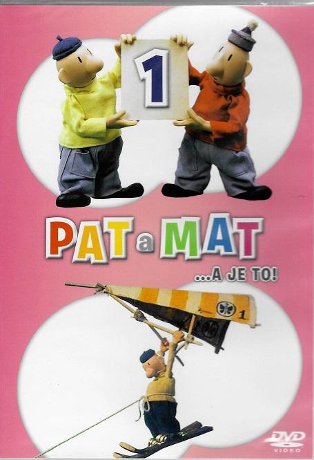 Pat a Mat 1 ( plast ) DVD
