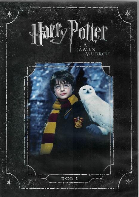 Harry Potter a Kámen mudrců ( plast ) DVD
