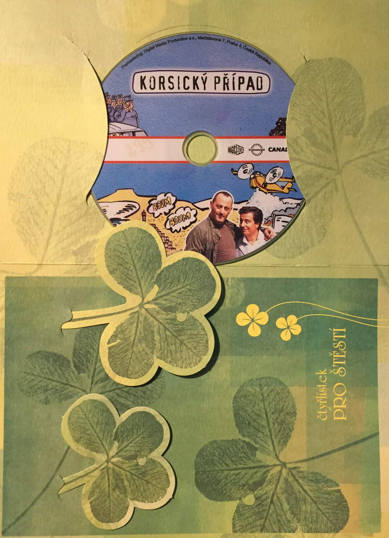 Korsický případ - DVD /dárkový obal/