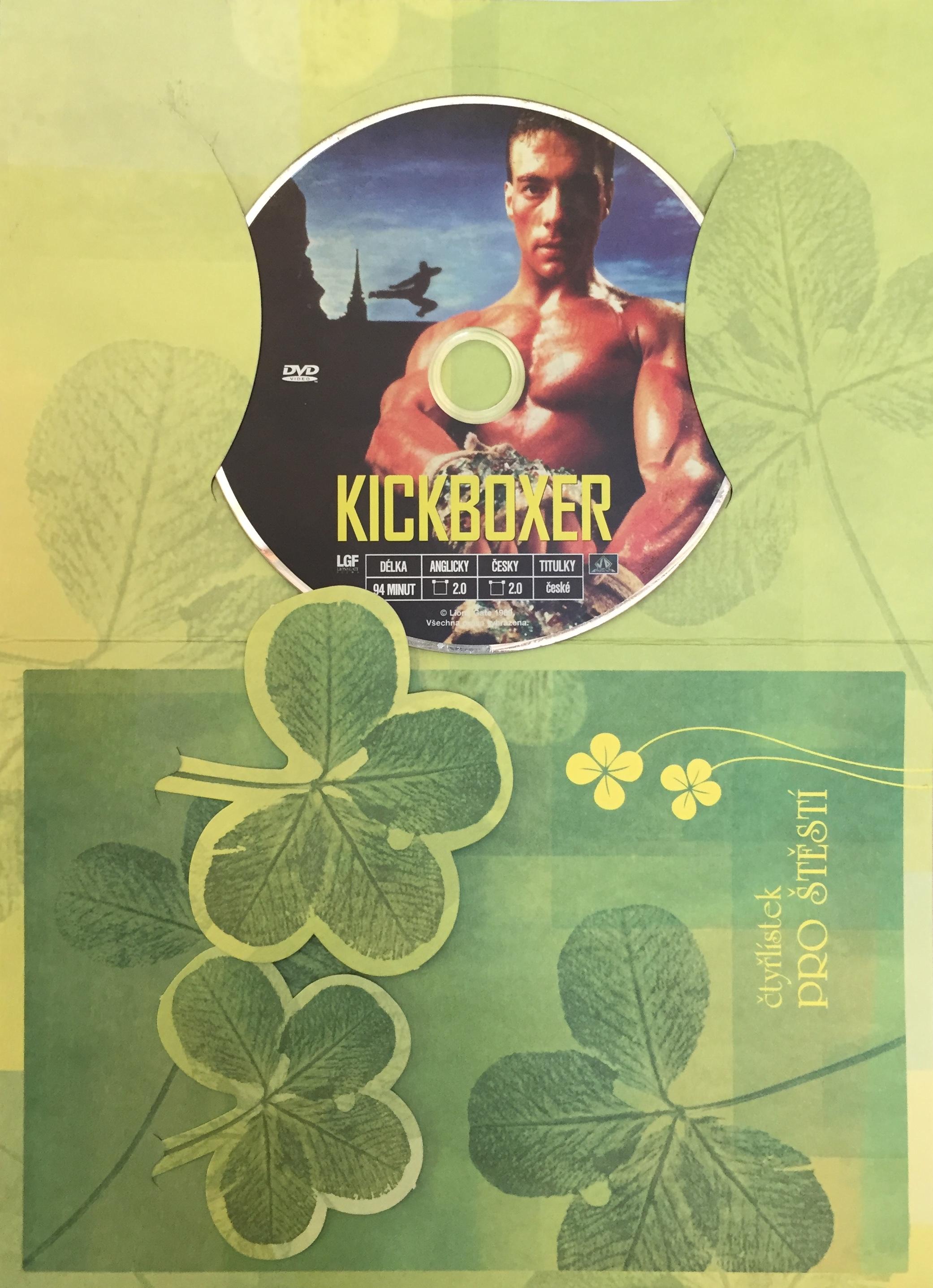 Kickboxer - DVD /dárkový obal/