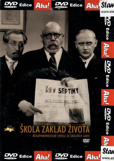 Škola základ života ( pošetka ) - DVD