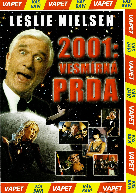 2001 : Vesmírná prda - DVD pošetka