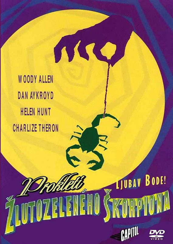 Prokletí žlutozeleného škorpiona - DVD
