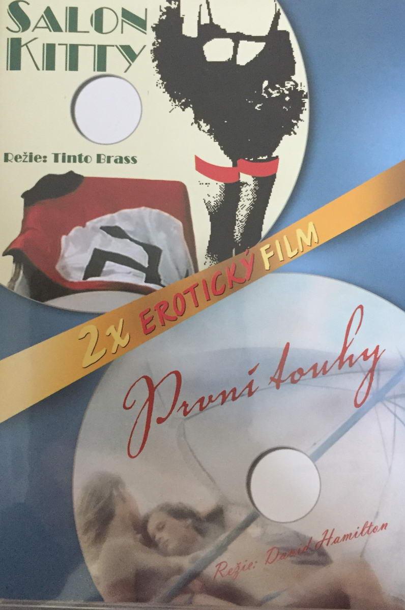 Salon Kitty / První touhy - 2 x erotický film - DVD plast