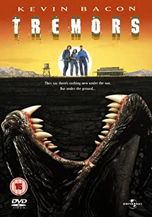 Tremors - DVD plast