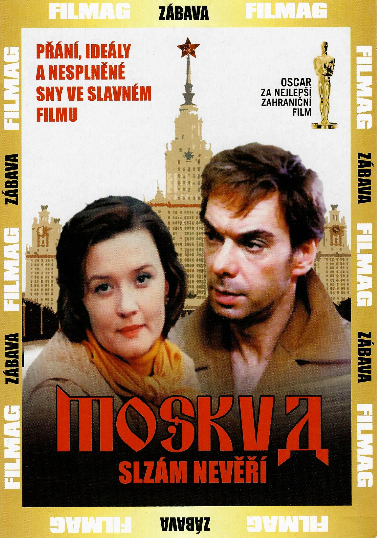 Moskva slzám nevěří - DVD pošetka