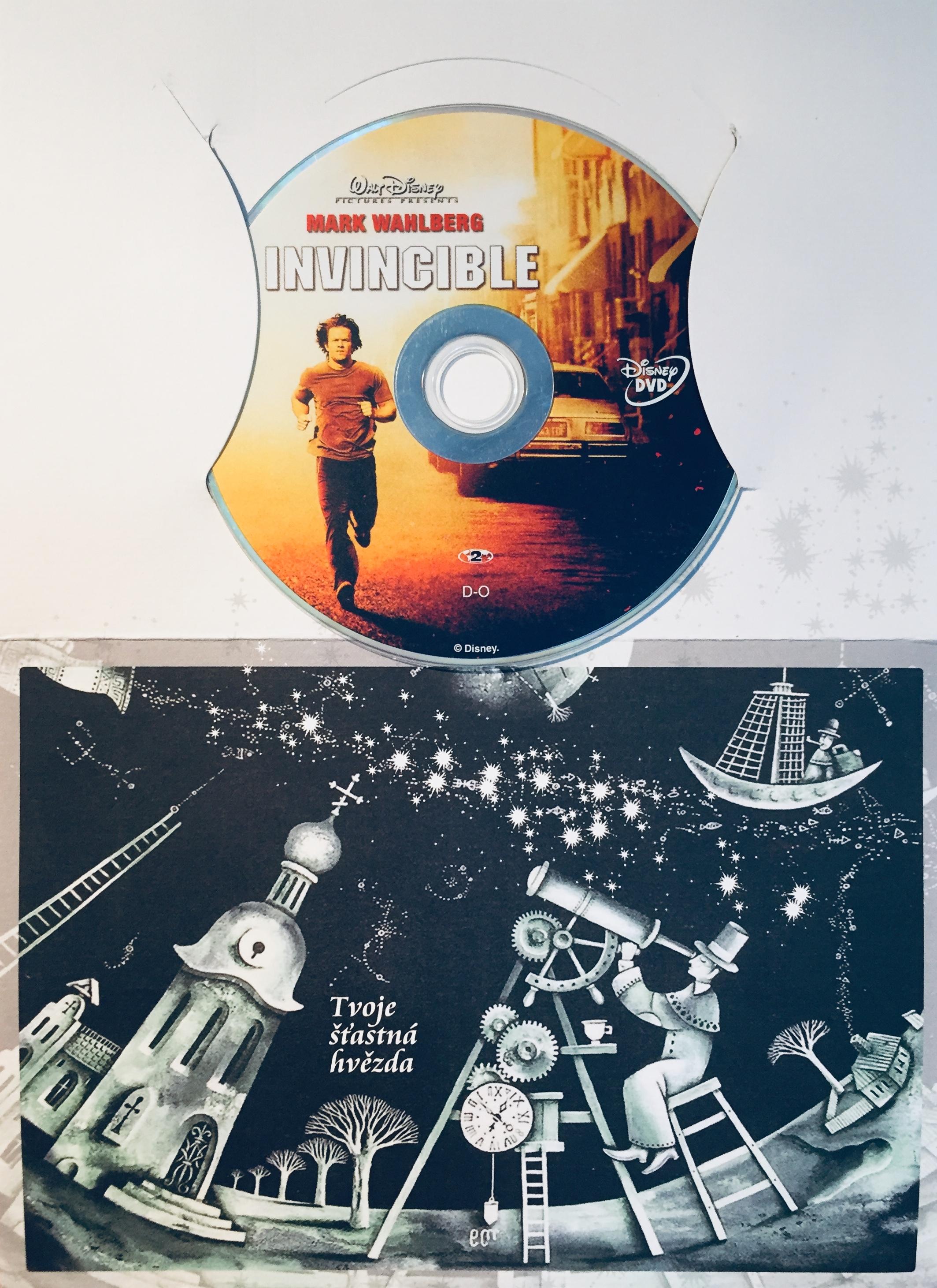 Invincible / Nepřemožitelný - DVD /dárkový obal/