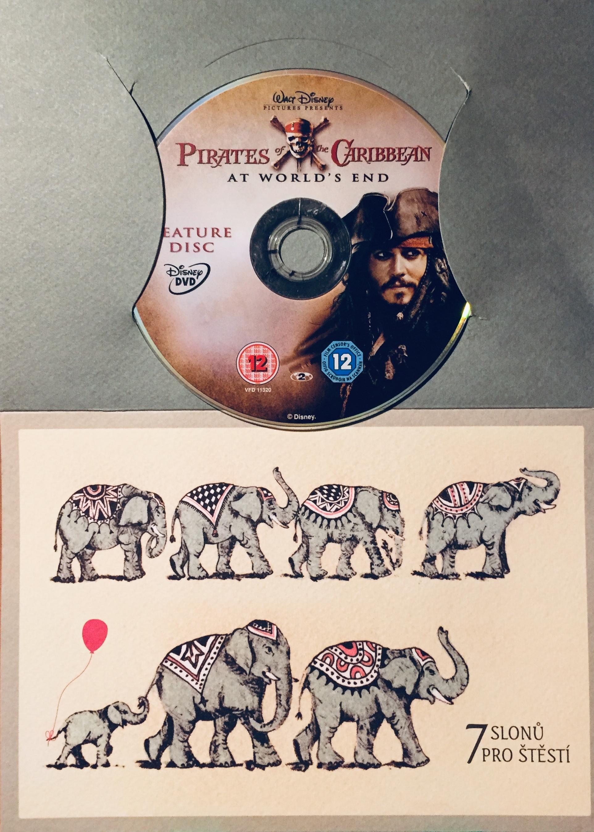 Pirates of the Caribbean: At World's End / Piráti z Karibiku: Na konci světa - DVD /dárkový obal/