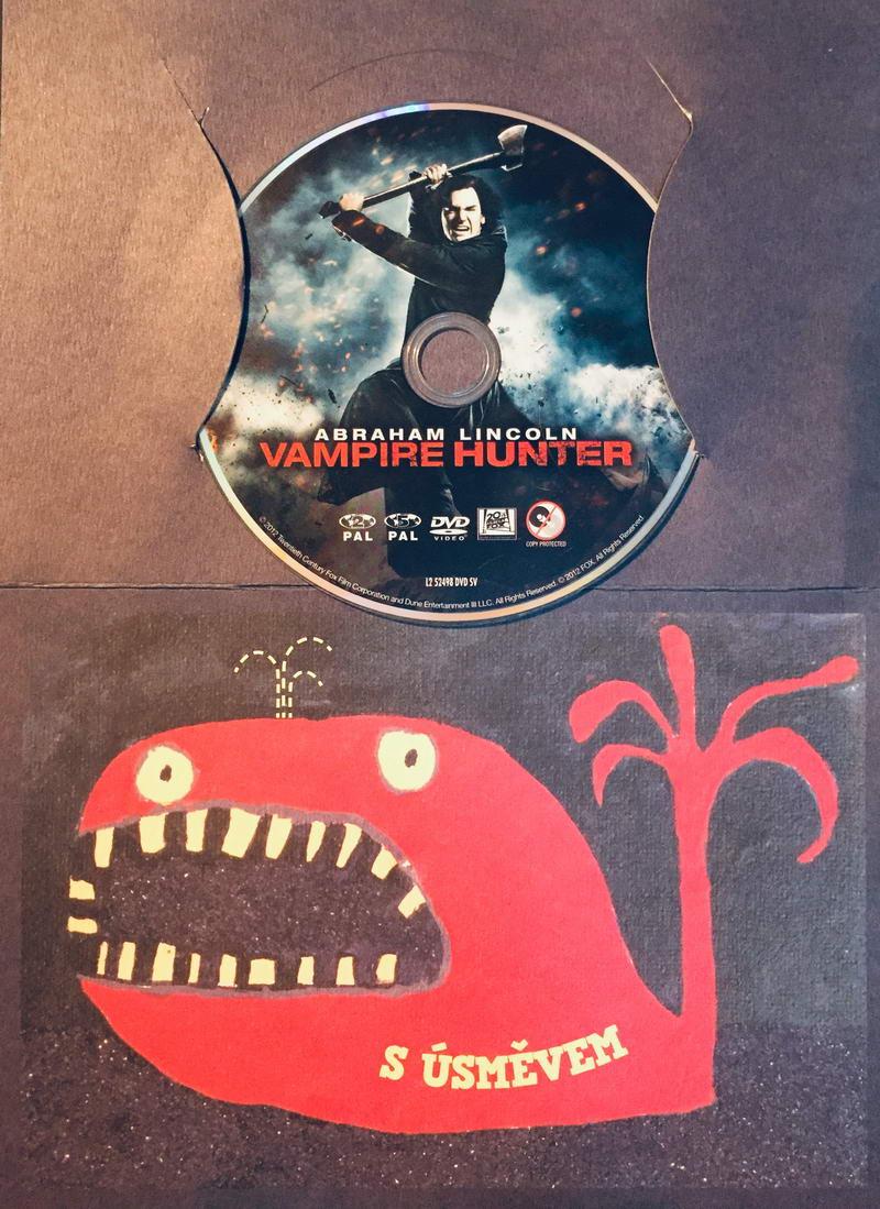 Abraham Lincoln - Vampire Hunter / Abraham Lincoln - Lovec upírů - DVD /dárkový obal/