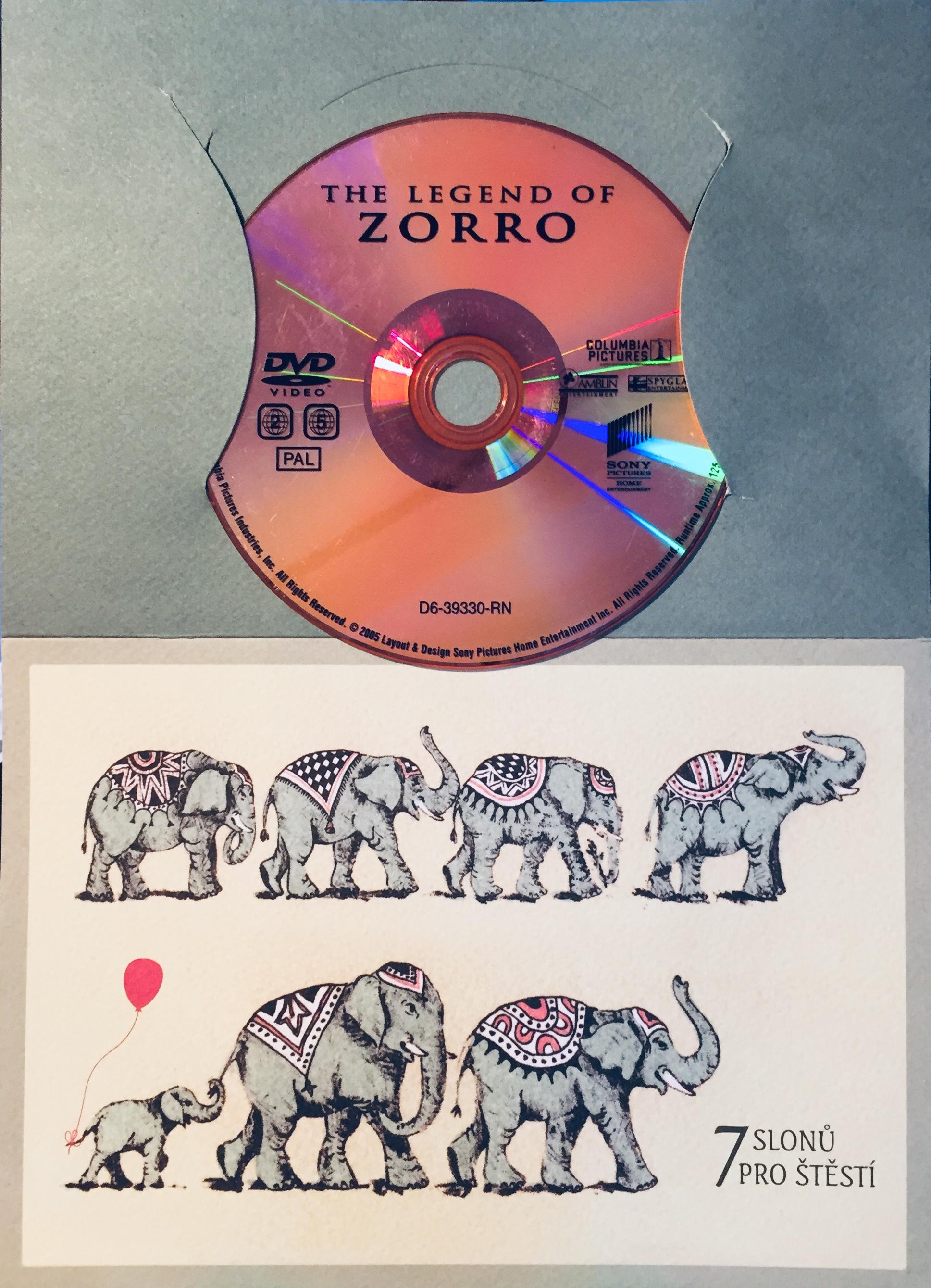 The Legend Zorro / Legenda o Zorrovi - DVD /dárkový obal/