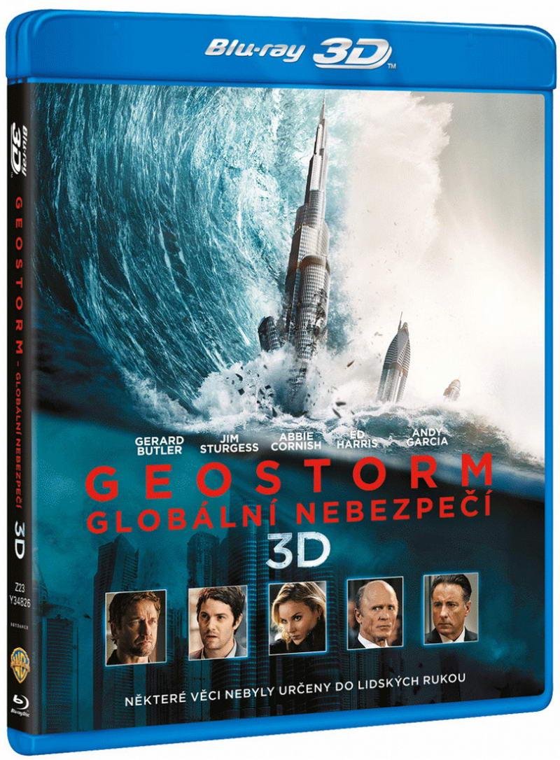 Geostorm - Globální nebezpečí (2Blu-ray 3D+2D)