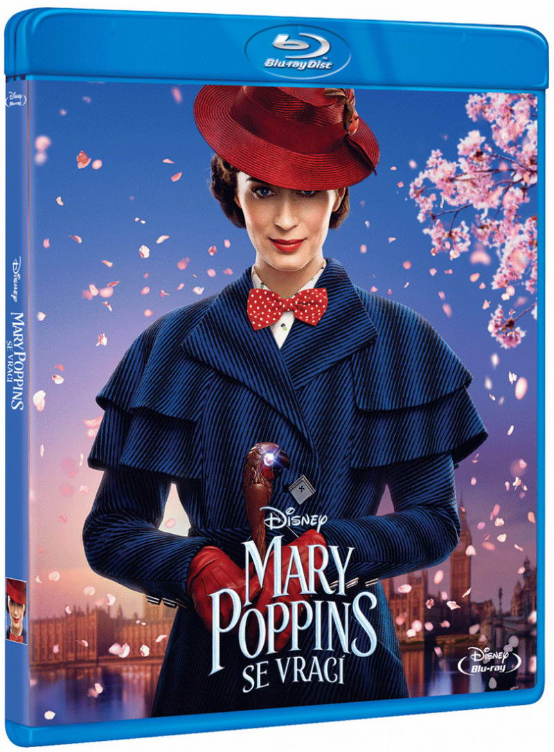 Mary Poppins se vrací (Blu-ray)