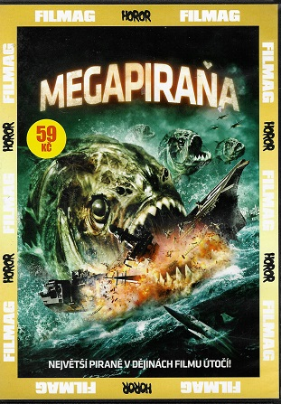 Megapiraňa ( slim ) DVD