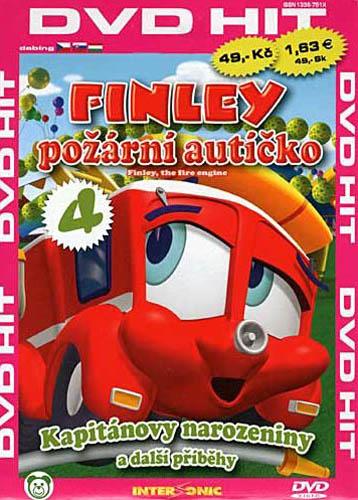 Finley - požární autíčko - 4 - DVD