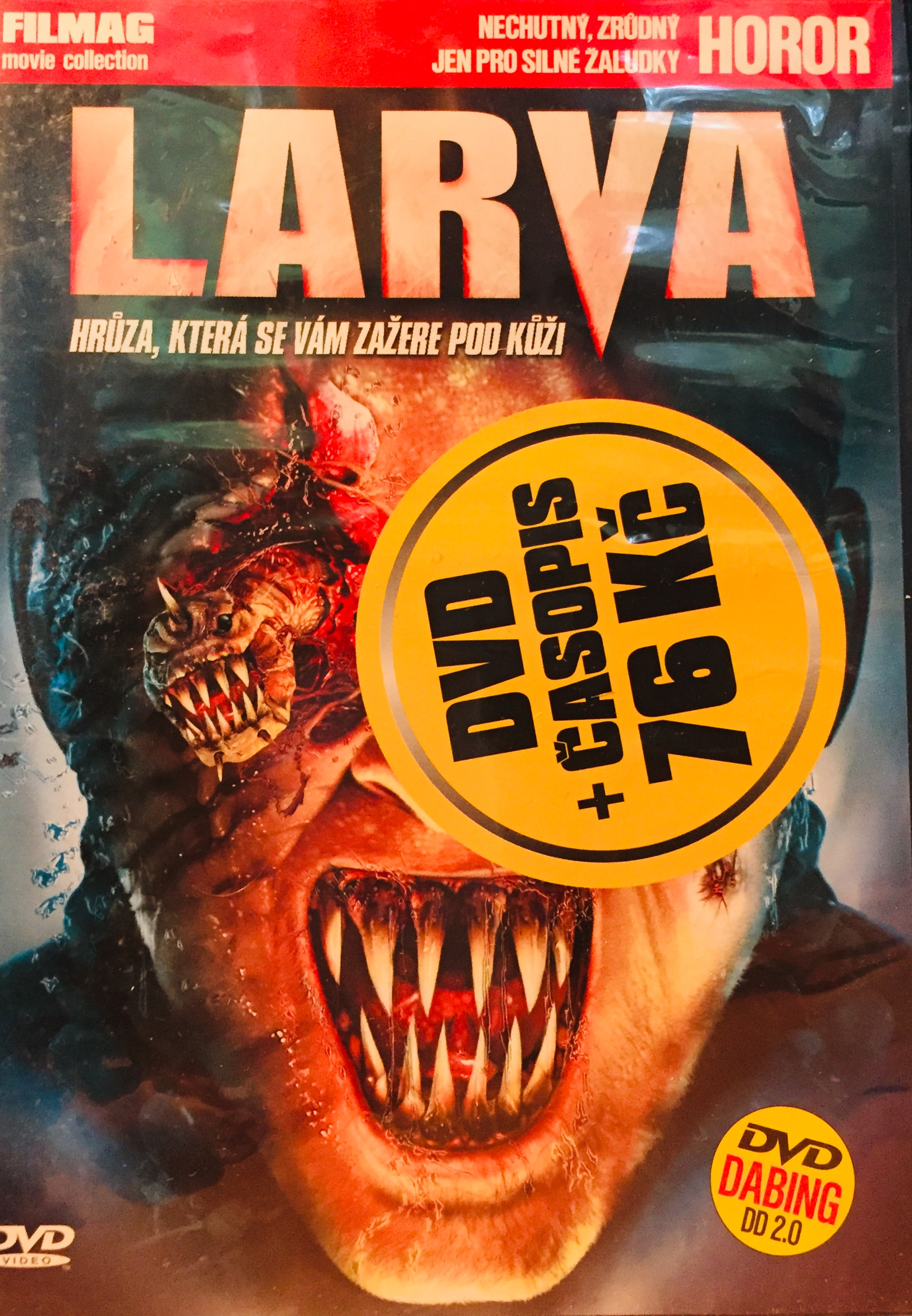 Larva - DVD /plast/